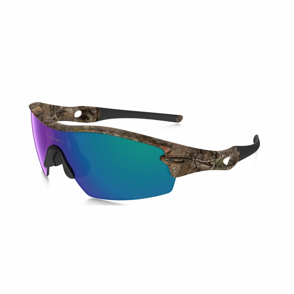 oakley radar pitch polarized sunglasses  oakley radar pitch sunglasses woodland camo/shallow blue polarized