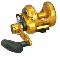 Okuma MK-10II-TDC Makaira 2-Speed Lever Drag Reel with TDC Drag Cam