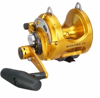 Okuma MK-20II-TDC Makaira 2-Speed Lever Drag Reel with TDC Drag Cam