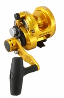 Okuma MK-8II-TDC Makaira 2-Speed Lever Drag Reel with TDC Drag Cam