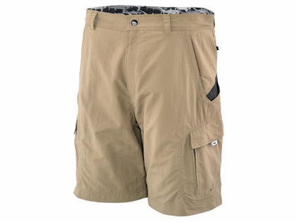 Old Harbor Outfitters S734 Big Rock Fishing Shorts Khaki