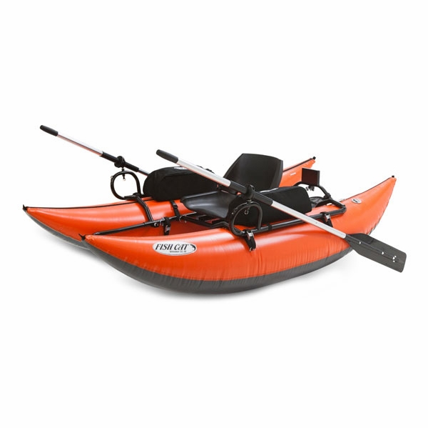 Outcast Fish Cat Streamer Inflatable Pontoon Boat ...