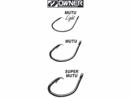 Owner Mutu Circle Hooks
