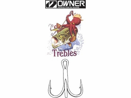 Owner ST-66 Treble Hooks