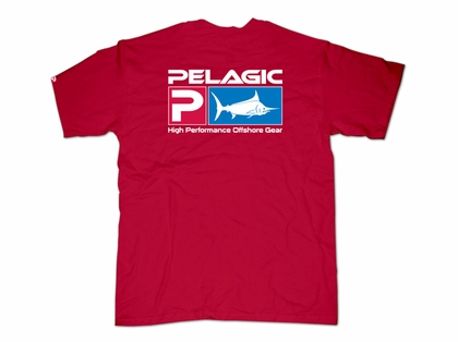 Pelagic 101 Deluxe T-Shirt Red