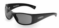 Pelagic 1010 Baja Sunglasses Matte Black/Grey