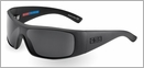 Pelagic 1030 Viper Sunglasses Matte Black/Grey