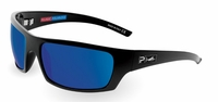 Pelagic 1040 The Mack Sunglasses Gloss Black/Cobalt