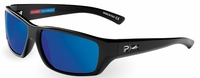 Pelagic 1050 Fish Whistle Sunglasses Gloss Black/Cobalt