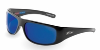 Pelagic 1060 Legend Sunglasses Gloss Black/Cobalt