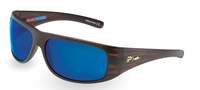 Pelagic 1060 Legend Sunglasses Teak/Cobalt