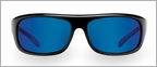 Pelagic 1070 Falken Sunglasses Gloss Black/Cobalt