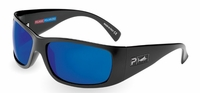 Pelagic 1080 Twin Diesel Sunglasses Gloss Black/Cobalt