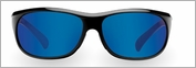 Pelagic 1090 Sonar Sunglasses Gloss Black/Cobalt