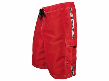 Pelagic 201 Blackfin Shorts Red