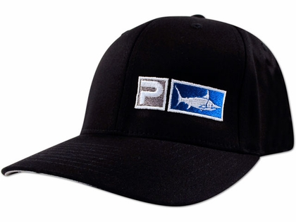 Pelagic 525-B Flexfit ''Core Logo'' Cap Black
