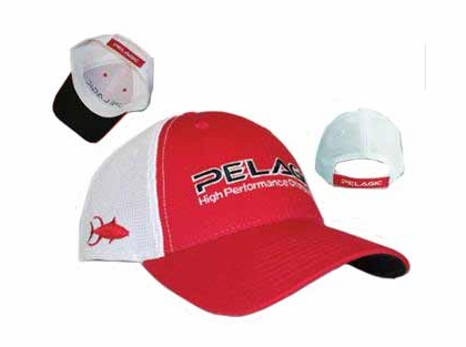 Pelagic 545 Offshore Cap Red/Tuna