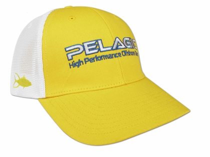 Pelagic Offshore Hat - Yellow/Tuna