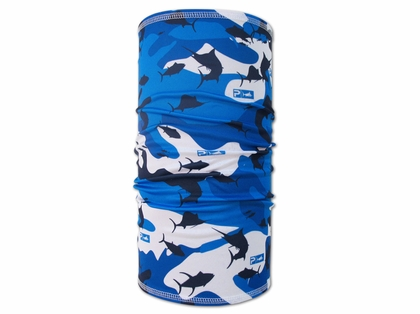 Pelagic SPF Fish Camouflage Blue Sunshield