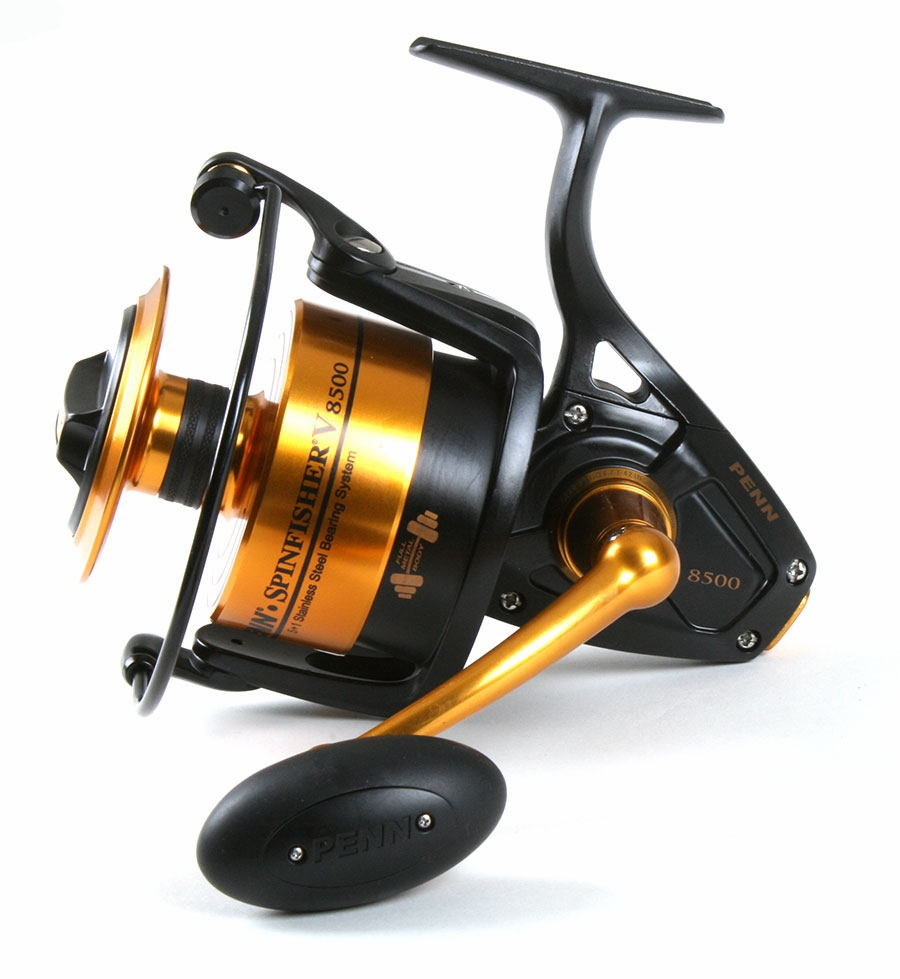 penn ssv8500 spinfisher v reel / penn prevail combo | tackledirect, Fishing Reels