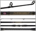 Penn BATSF2550C12 12ft 2pc Conventional Surf Rod