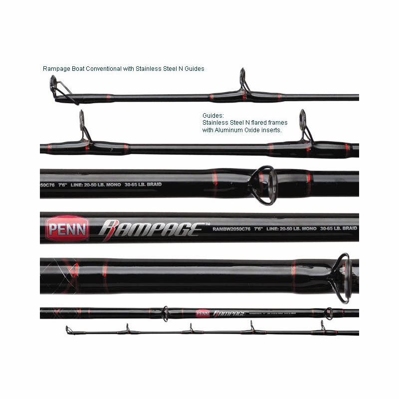 penn rampage boat rod | tackledirect, Reel Combo