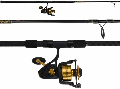 Penn SSV5500802MH Spinfisher V 8ft Surf Combo