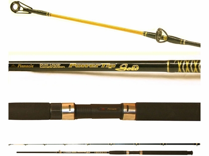 Pinnacle PTG862DR 2pc Downrigger PowerTip Gold Fishing Rod