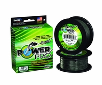 PowerPro Braided Spectra Fiber Fishing Line Moss Green 100 Yds