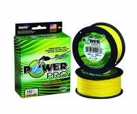 PowerPro Braided Spectra Fiber Fishing Line Hi-Vis Yellow