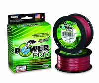 PowerPro Braided Spectra Fiber Fishing Line Vermilion Red 40LB 150 Yds