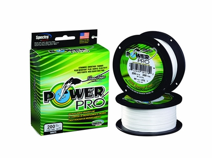 PowerPro Fishing Line Braided Spectra 100Lb 300Yds White