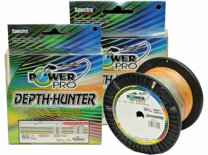 PowerPro Depth Hunter Braided Fishing Line - 333yds