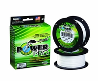PowerPro Fishing Line Braided Spectra 20Lb 300Yds White