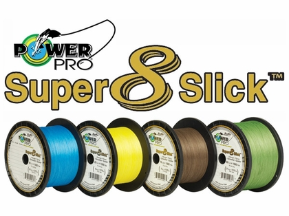 PowerPro Super Slick Braided Line 50lb 150yds