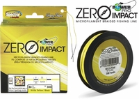 PowerPro Zero-Impact Braided Fishing Line Hi-Vis Yellow 500yd Spools