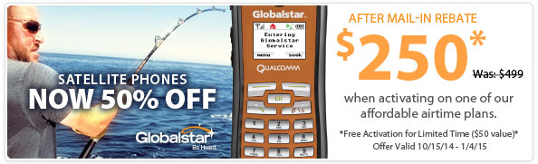 Globalstar Phone Promotion