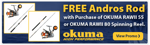 Okuma Reel Promotion
