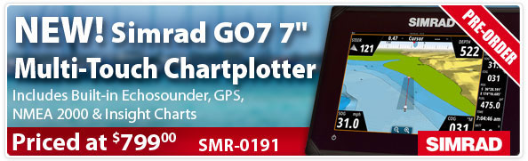 Simrod GO7 7in Multi Touch Chartplotter