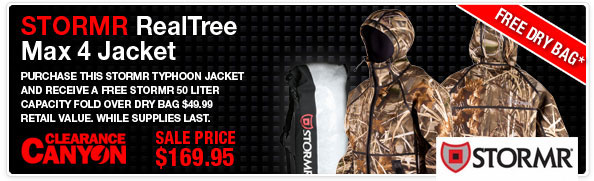 Stormr Jackets - Free Bag with Purchase Promotion