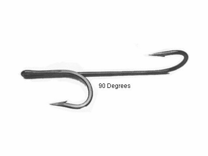 Quick Rig Double Trouble ''90'' Degree Hooks 7/0 Black Nickel