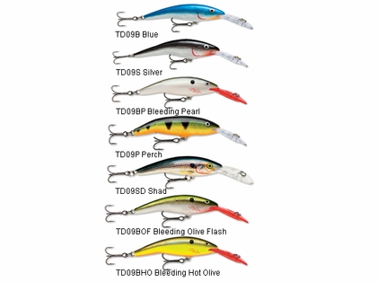 Rapala TD09 Tail Dancer Lures