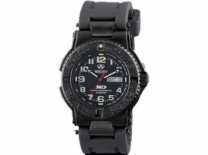 Reactor Trident 59581 Watch - Black Nitride - Black Face