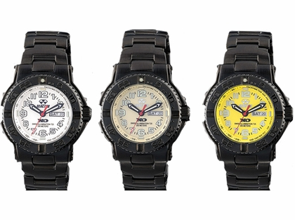 Reactor Trident Watches with Never Dark