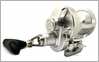 Release LG-P2201R Large Game Conventional Lever Drag Reel Silver/Silver