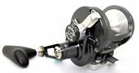 Release LG-P2301R Large Game Conventional Lever Drag Reel Gunmetal/Silver