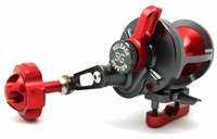 Release P-1611R Saltwater Conventional Reel SG Gunmetal/Red