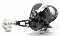 Release LG-P2300R Large Game Conventional Lever Drag Reel Gunmetal/Silver