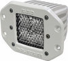 Rigid Industries 61151 Marine Dually Flush Mount Diffused Single