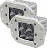 Rigid Industries 61221 Marine Dually Flush Mount Spot Pair